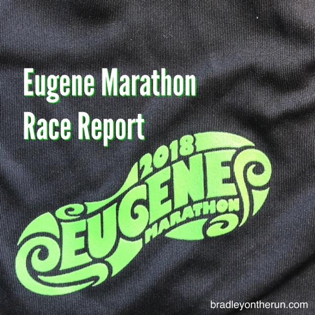 Eugene Marathon 2018 • Bradley on the Run